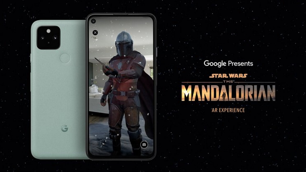 Pixel 5用アプリ「The Mandalorian AR Experience」リリース