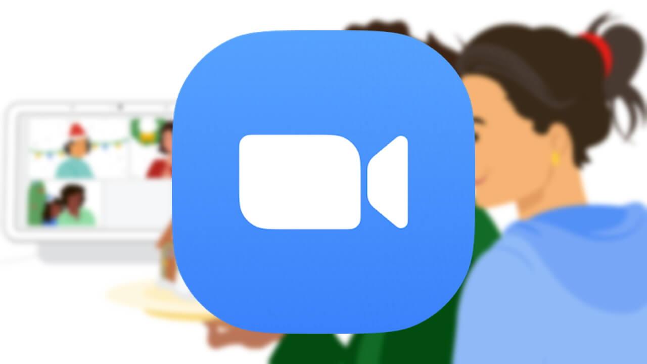 日本未対象!「Nest Hub Max」でビデオ会議「Zoom」利用可能に
