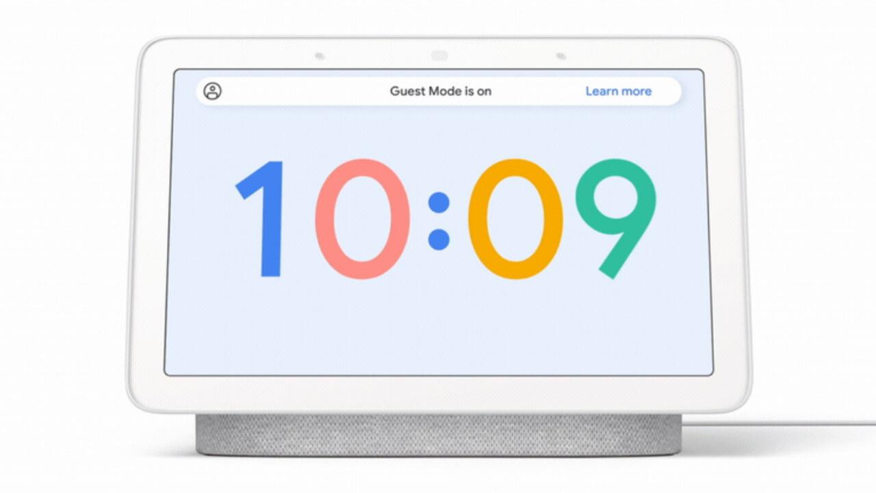 Googleスマートスピーカー/ディスプレイにゲストモード提供へ