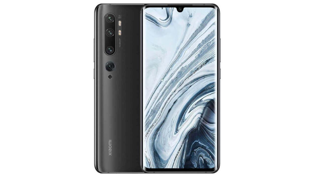 Xiaomi Mi Note 10-Black