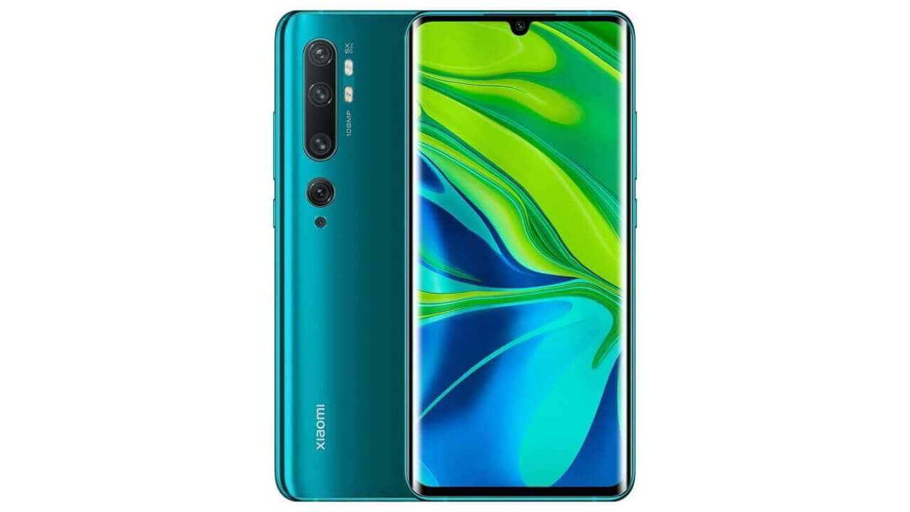 国内版「Xiaomi Mi Note 10 Pro」Amazonで久々特価