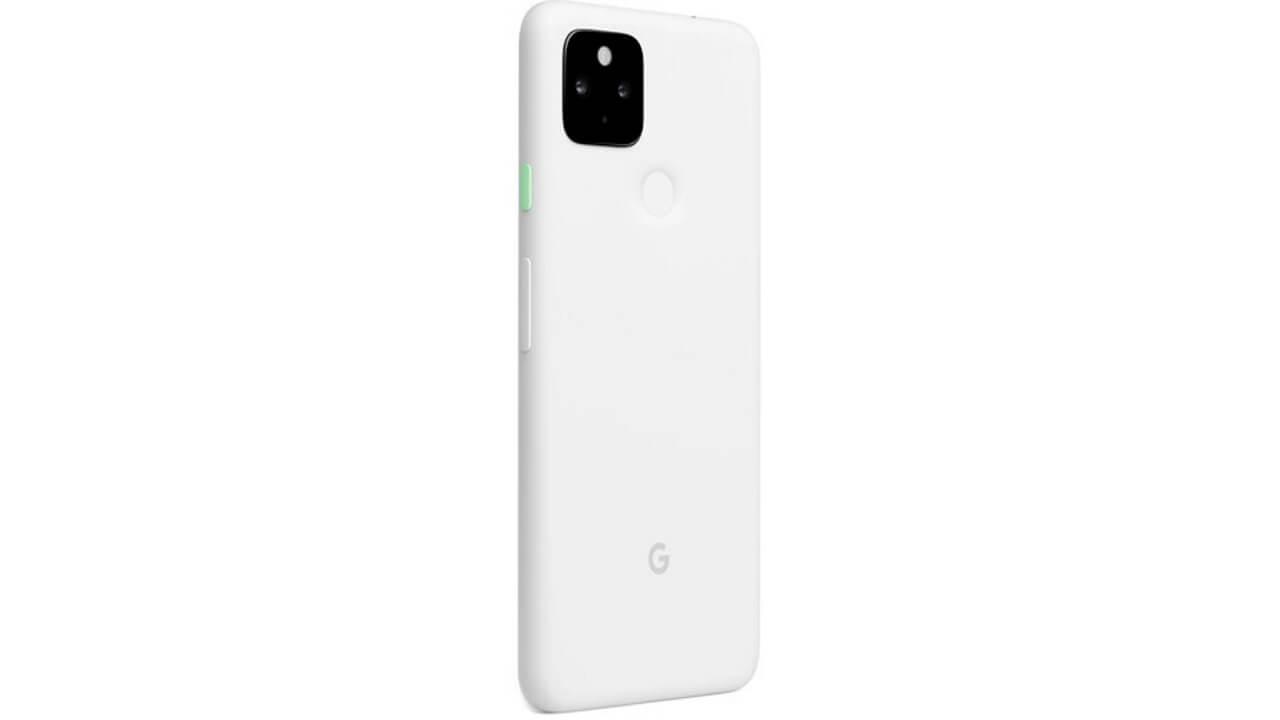 国内Googleストアに「Pixel 4a(5G)」ホワイト再入荷