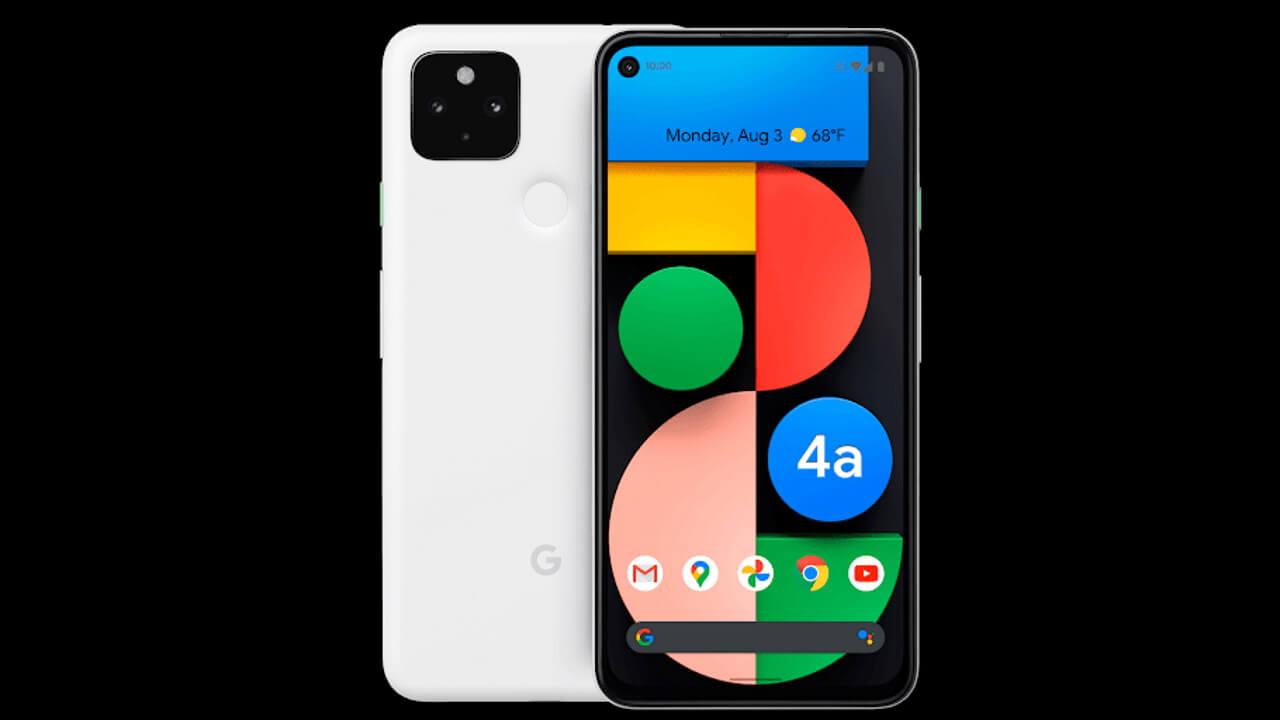 SIMフリー「Pixel 4a(5G)」ホワイト登場?