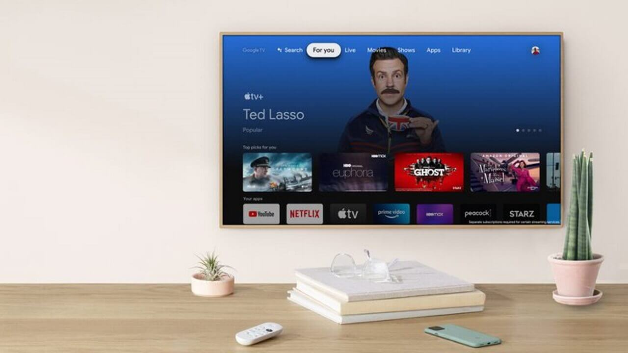 「Google TV」Apple TV+利用可能に