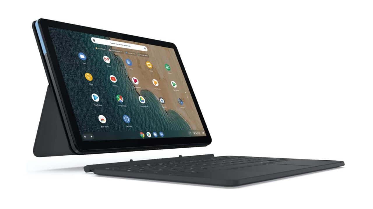 Amazonで「Lenovo IdeaPad Duet Chromebook」2重値下げ超特価!