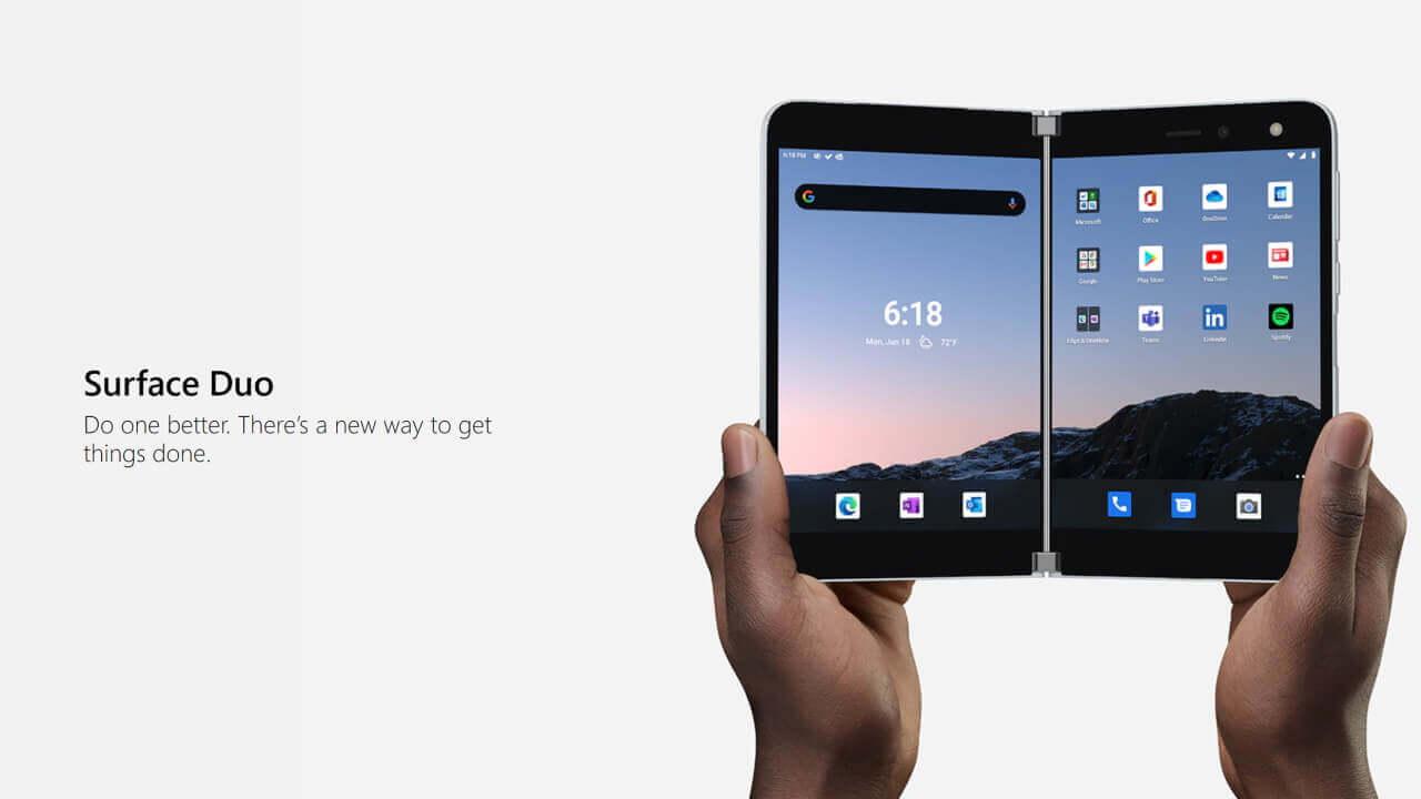 「Surface Duo」ついに英国などで発売