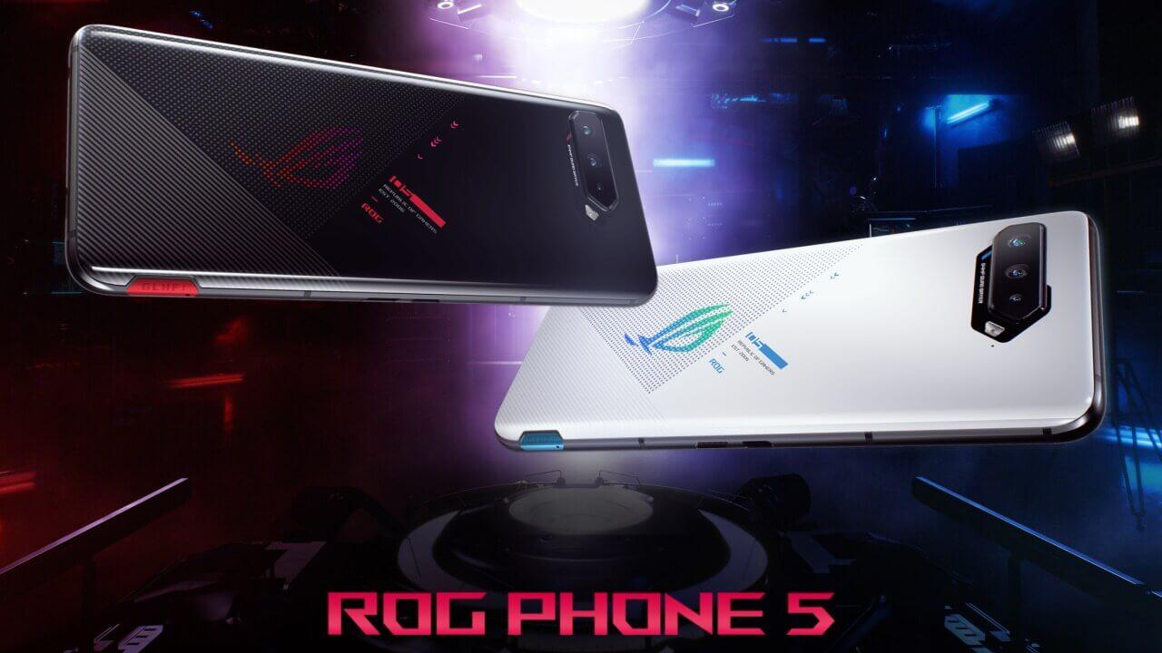 ASUS、Snapdragon 888搭載新世代「ROG Phone 5」シリーズ正式発表
