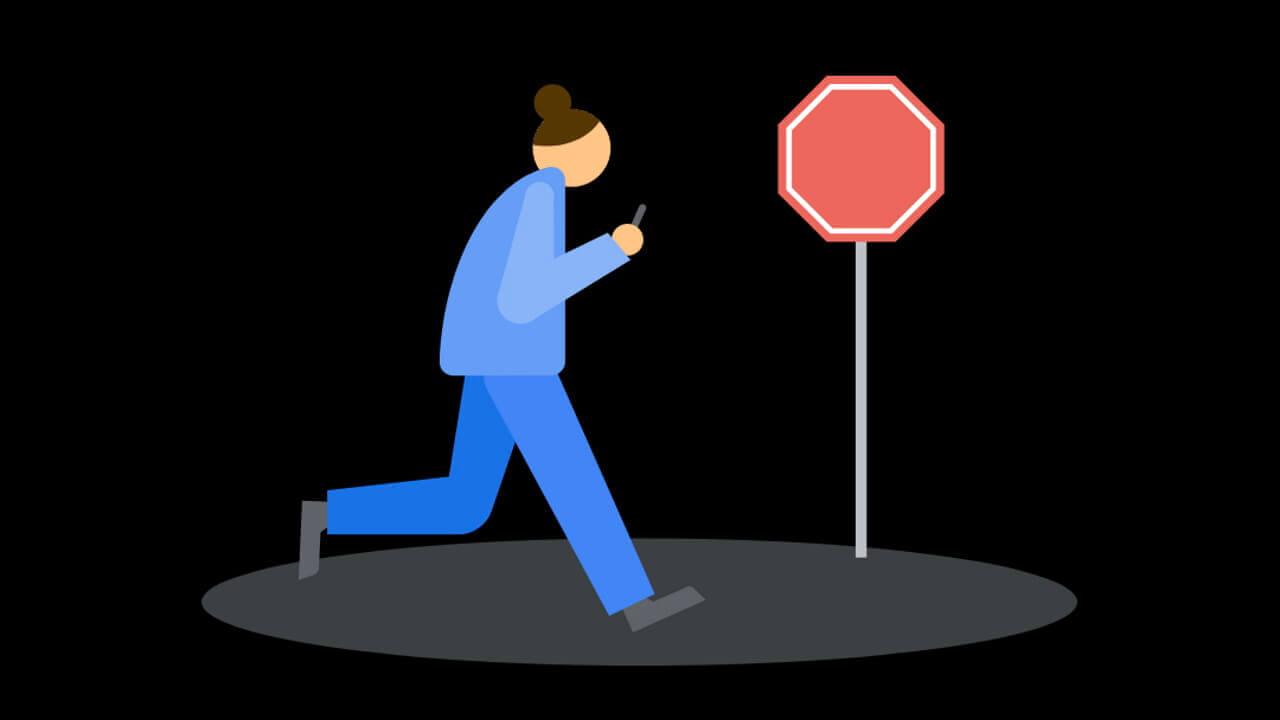 Pixel「Digital Wellbeing」歩きスマホ抑制機能[前方注意]提供開始