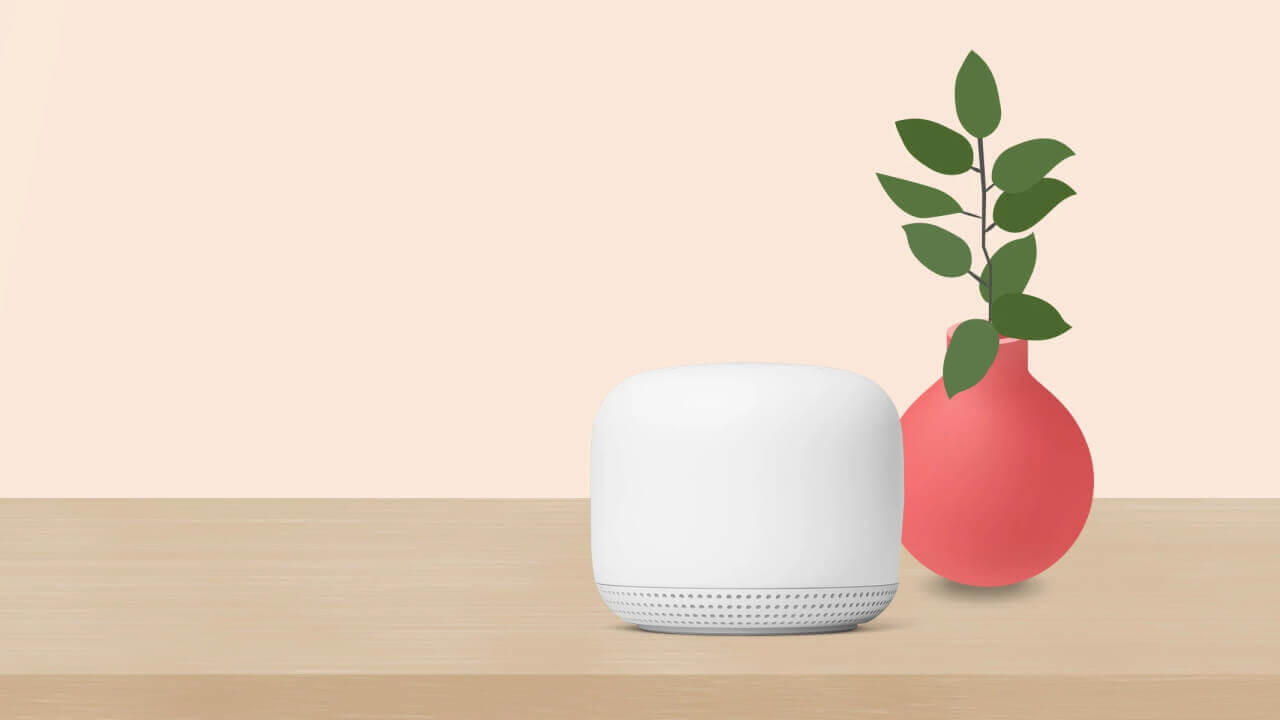 Googleストアで「Nest Wifi」セット20%引き特価!【5月9日まで】