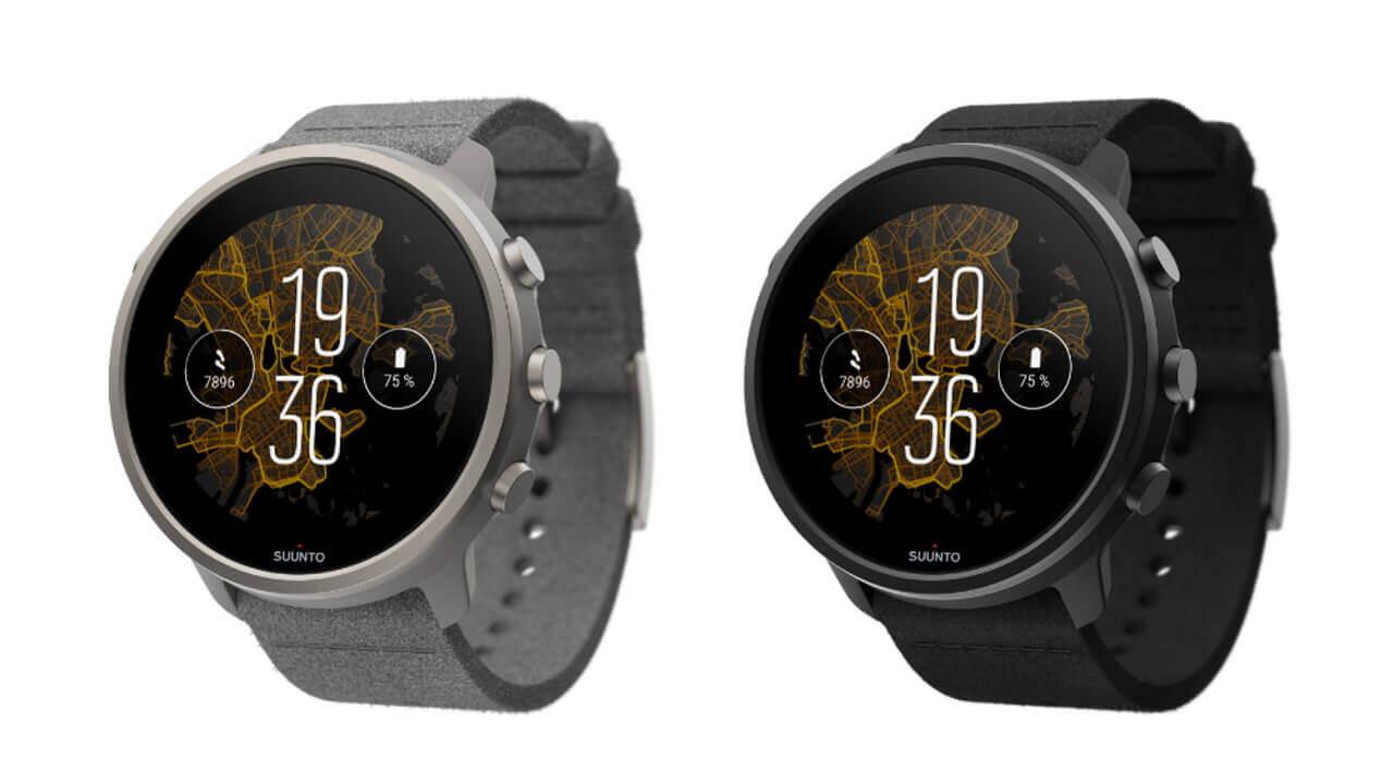 新型Wear OS「Suunto 7 Titanium」4月21日国内発売