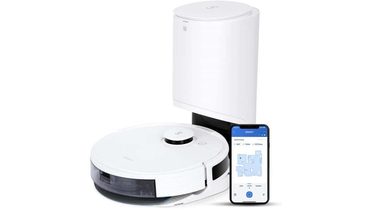 ロボット掃除機「ECOVACS DEEBOT N8+」Amazonでタイムセール特価!