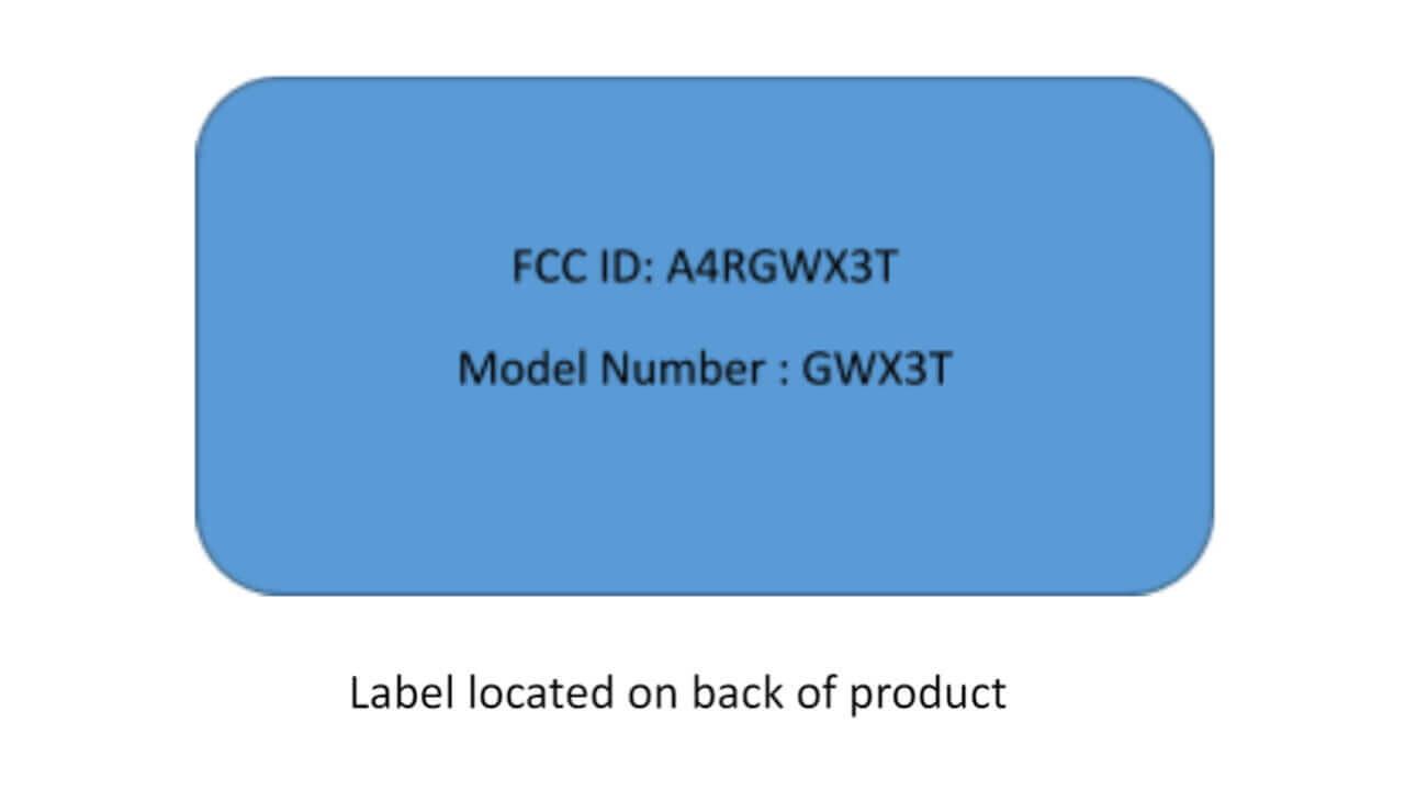 未発表Google製「GWX3T」FCC認証取得
