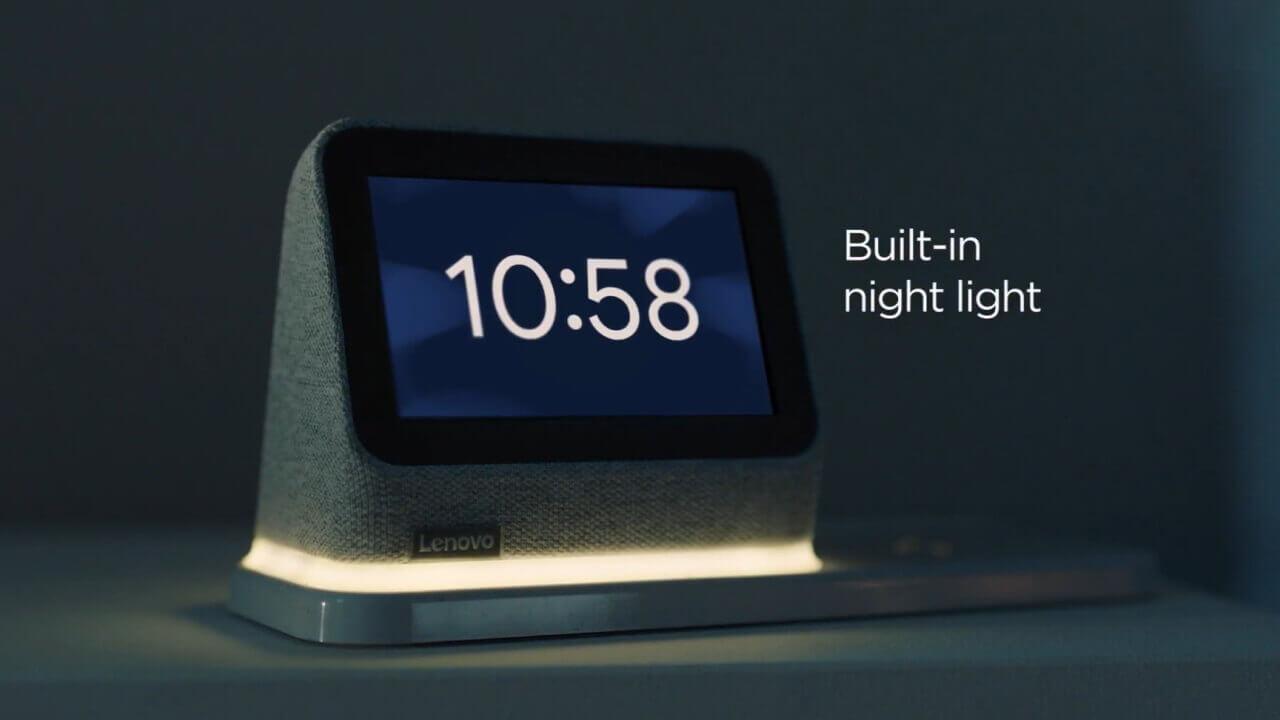 新型スマートクロック「Lenovo Smart Clock 2」発表