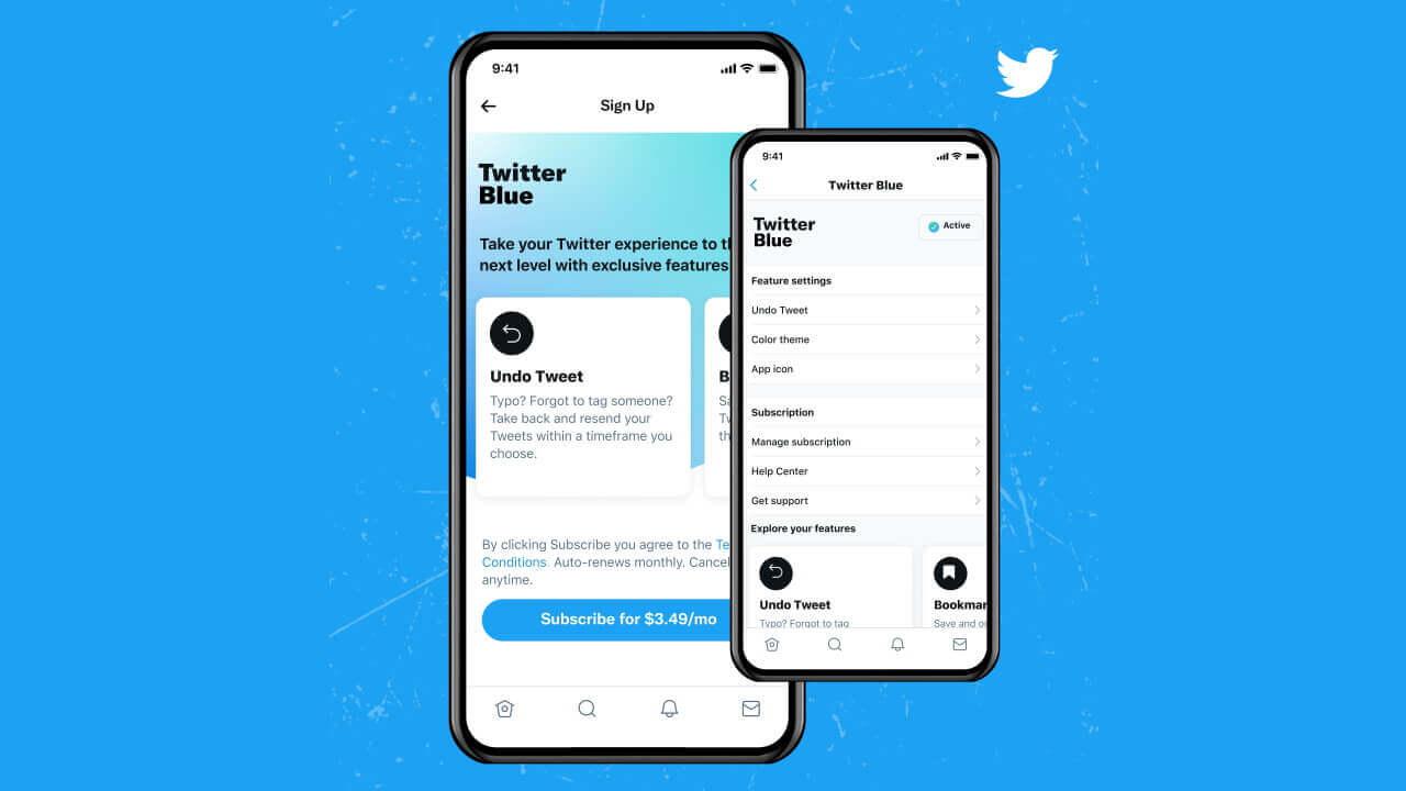 ツイート修正対応!「Twitter Blue」海外で提供開始