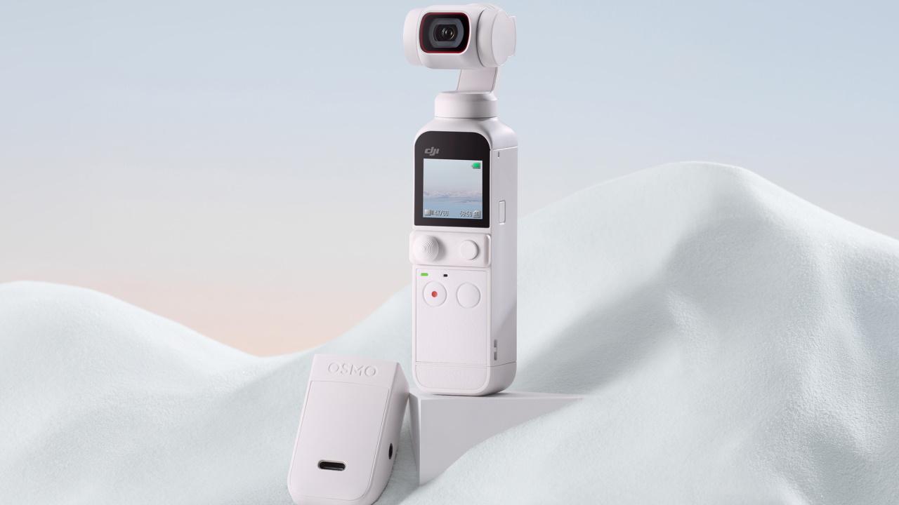 7月8日発表!「DJI Pocket 2」新色サンセットホワイト