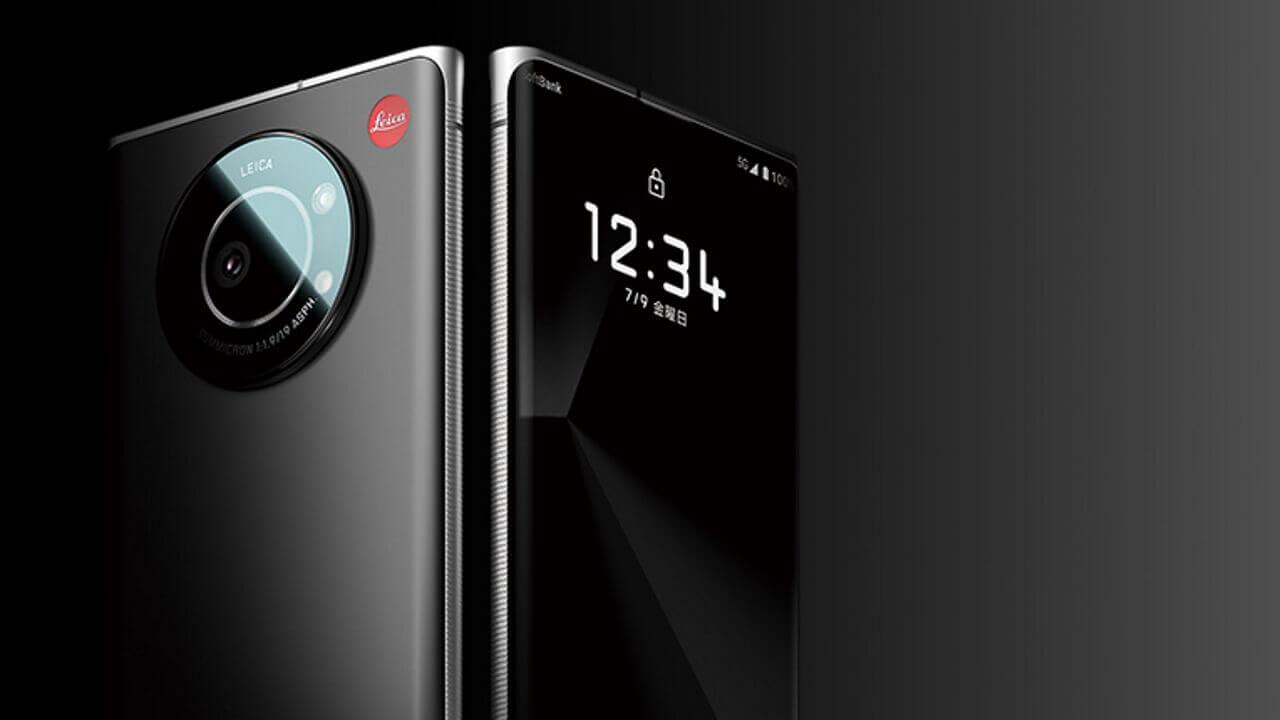 Leica監修「Leitz Phone 1」ついに国内発売