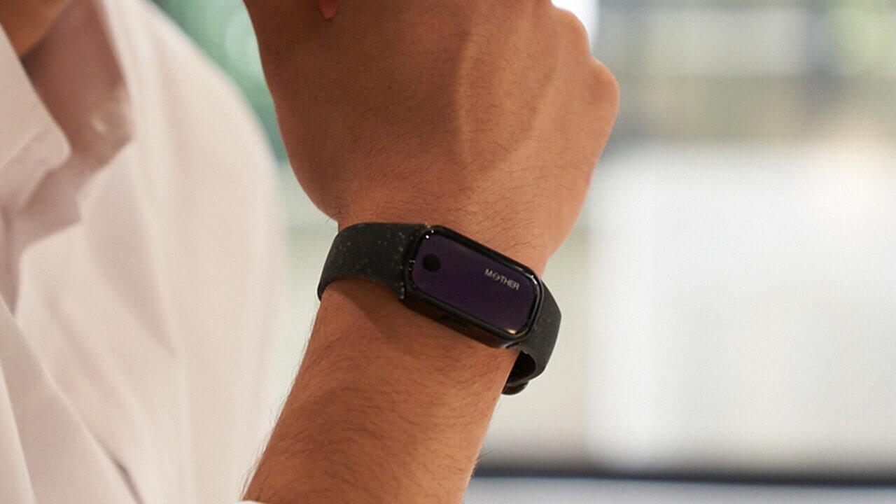 メディロム、世界初無充電ウェアラブル「MOTHER Bracelet」ついに予約開始