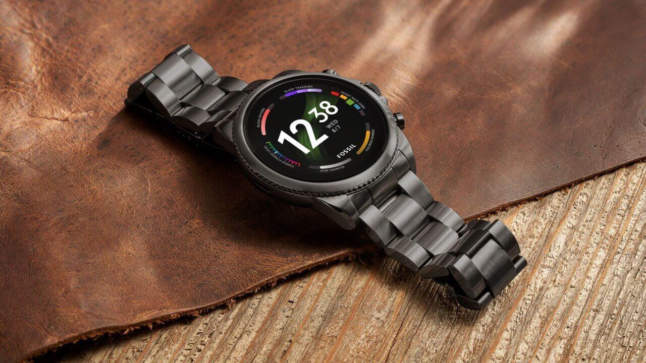 SDW4100+搭載!Fossil第6世代Wear OS「Gen 6」9月27日国内発売