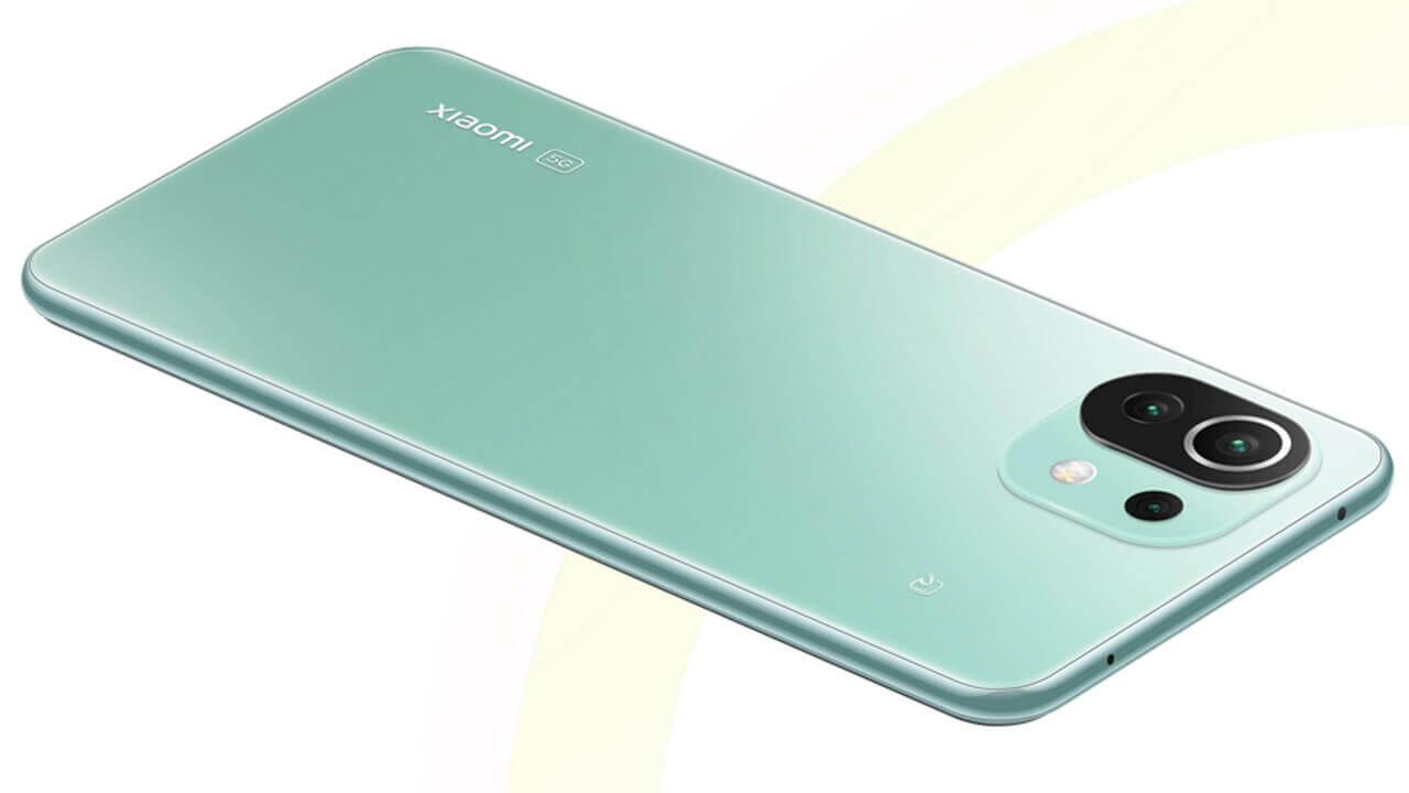 ミント再入荷&17,100円超特価!OCNモバイルONEの国内版「Xiaomi Mi 11 Lite 5G」
