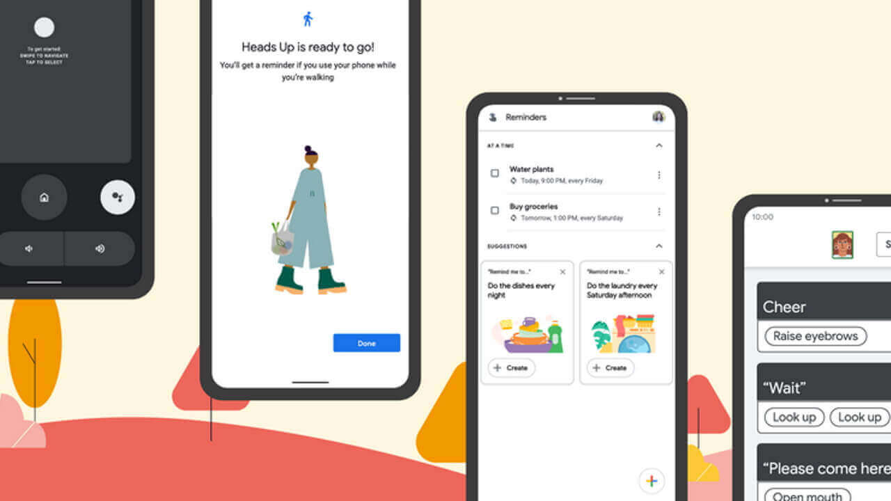 Google Japan、新しいAndroidの機能発表