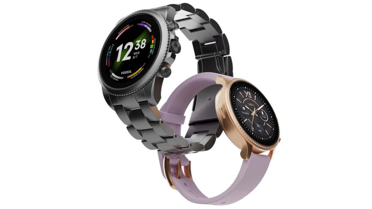 Fossil第6世代Wear OS「Gen 6」楽天市場で発売
