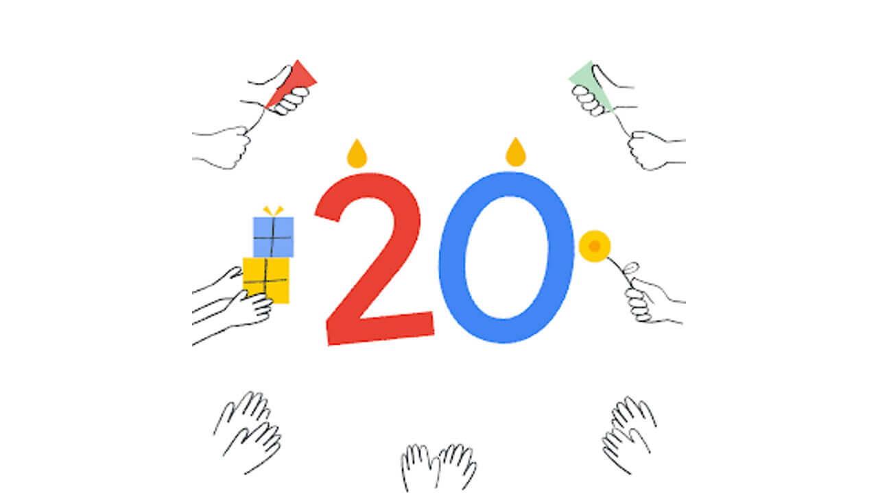 祝!Google Japan開設20周年