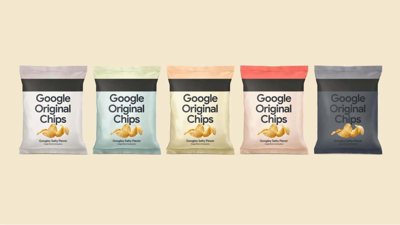 抽選ポテチ!Pixel 6「Google Original Chips」1,000個追加生産決定