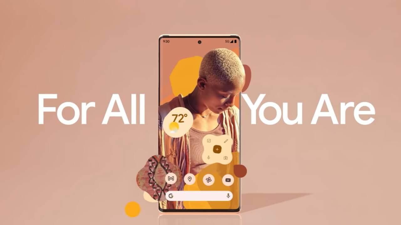Google、「Pixel 6」新ティザー動画公開