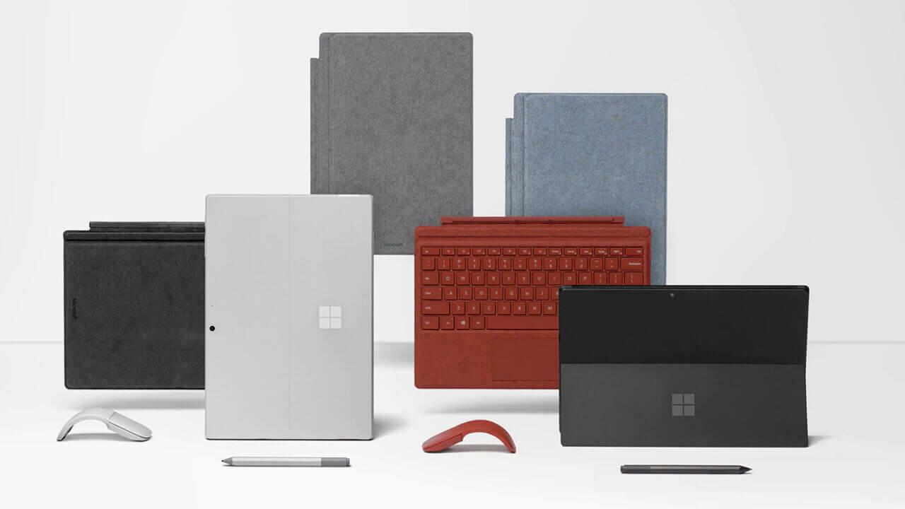 Microsoft公式で「Surface Pro 7」最大22,000円引き特価【9月30日まで】