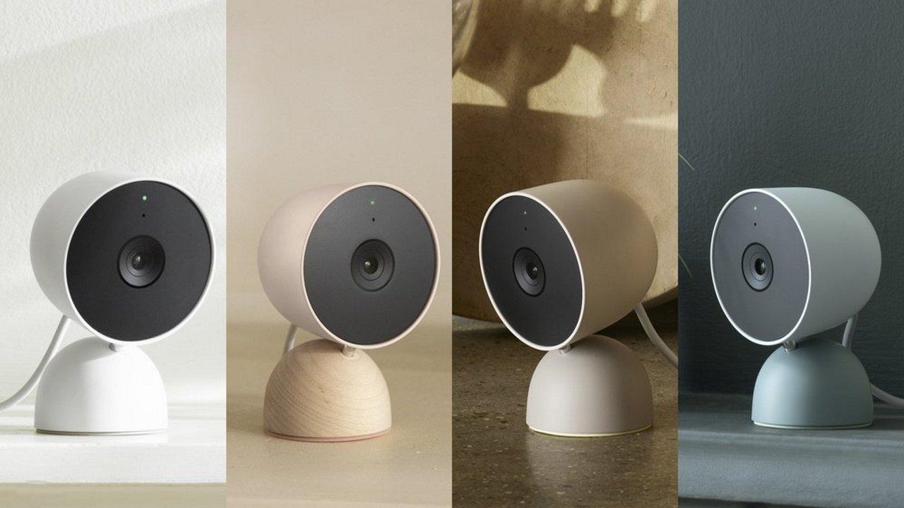 「Nest Cam(電源アダプター式)」海外発売